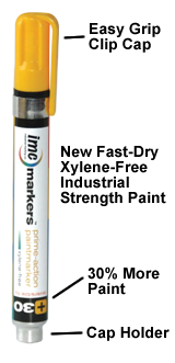IMC MARKS NO 1 Solid Stick-Orange-Box of 12 Markers